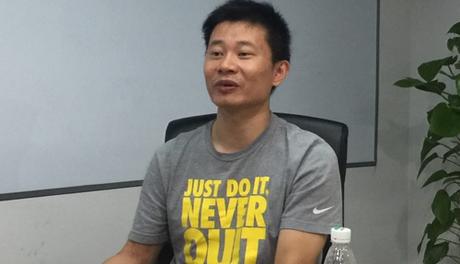 Ông Chen Benfeng, CEO của AllMobilize.