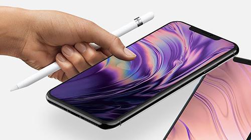 Apple Pencil có thể sẽ hỗ trợ thao tác trên iPhone 2018.