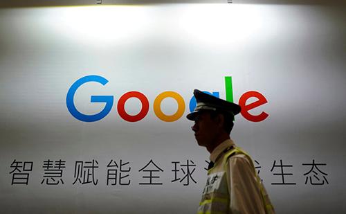 Nhân viên Google phản đối công ty phát triển công cụ tìm kiếm kiểm duyệt ở Trung Quốc. Ảnh: Reuters.