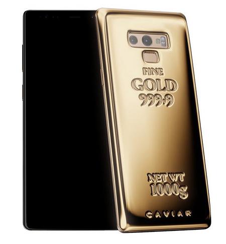 Phiên bản bằng vàng khối siêu sang của Galaxy Note9.