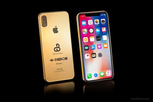 Phiên bản iPhone X 2018 bằng vàng và có giá ngất ngưởng.