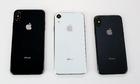 So kích thước các mẫu iPhone 2018 bằng mô hình