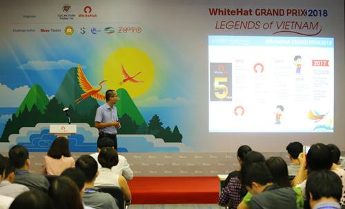 WhiteHat Grand Prix năm nay có chủ đề Truyền thuyết Việt Nam.