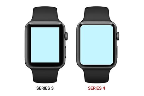 So sánh Apple Watch series 3 và series 4 dựa trên tin đồn.