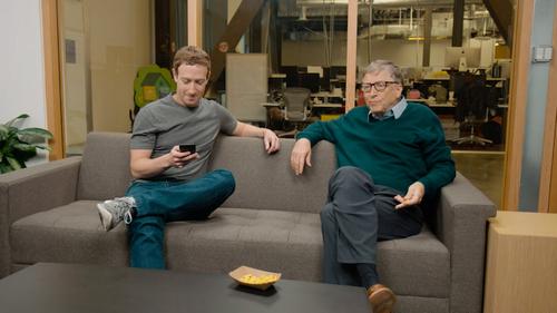 Ngoài công nghệ, Zuckerberg vẫn tham khảo ý kiến của Gates về từ thiện.