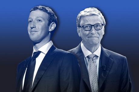 Bill Gates (bên phải) và Mark Zuckerberg (bên trái) đều là những người ảnh hưởng lớn đến lĩnh vực công nghệ.