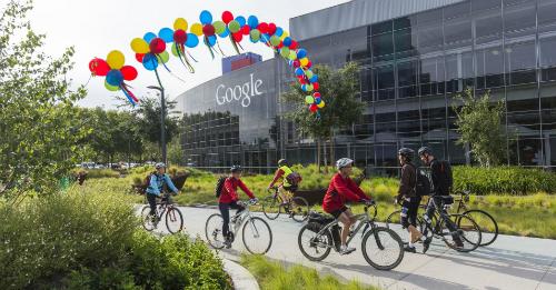 Google là một trong các công ty có môi trường làm việc tốt nhất thế giới.
