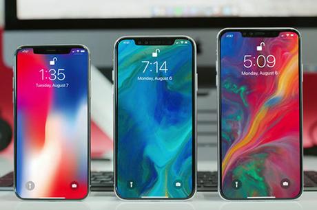 Bản dựng iPhone 2018 dựa trên tin đồn.