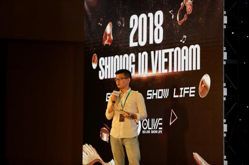Đại diện từ Olive giới thiệu về mạng xã hội video toàn cầu dựa trên nền tảng blockchain này.