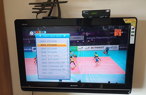 Các mẫu đầu thu DVB-T2 bán rời có giá chỉ từ 240.000 đồng.
