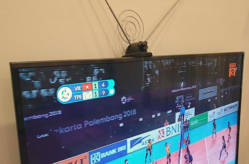 Các TV có sẵn bộ thu DVB-T2 chỉ cần mua thêm ăng-ten để bắt kênh sóng của VTC.
