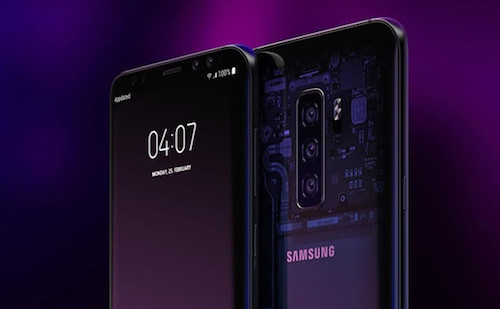 Một concept Galaxy S10.
