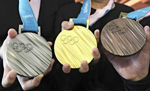 Thiết kế huy chương của Thế vân hội Tokyo 2020.