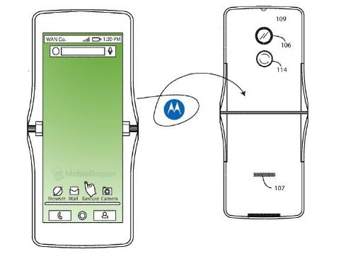 Motorola Razr có thể tái sinh dưới dạng màn hình gập - 2