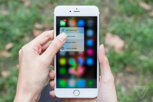 Apple có thể khai tử 3D Touch trên iPhone