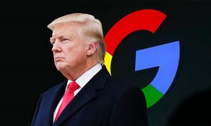Tổng thống Trump tố Google thiên vị
