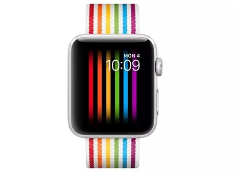 Mặt đồng hồ bị mã hóa để không hiển thị khi kết nối với iPhone dùng tiếng Nga.