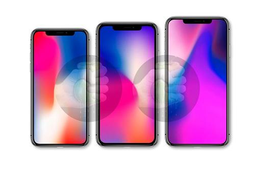 Ảnh được cho là bộ ba iPhone sẽ ra mắt ngày 12/9.
