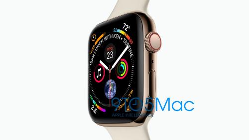Apple Watch Series 4 có màn hình lớn, viền mỏng