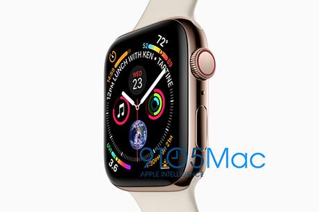 Apple Watch series 4 sở hữu màn hình lớn hơn.