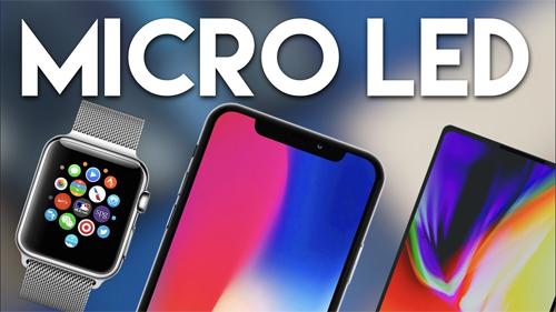 iPhone mới có thể dùng màn hình MicroLED