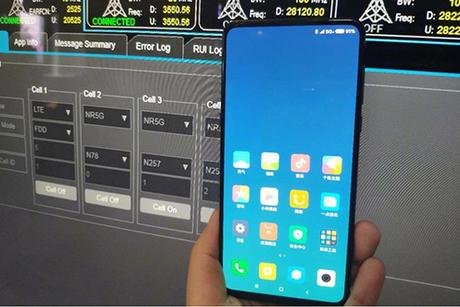 Hình ảnh được cho là Xiaomi Mi Mix 3.