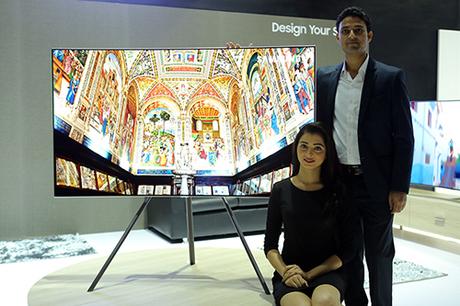 TV Samsung QLED ra mắt tại Ấn Độ. Ảnh: SamMobile.