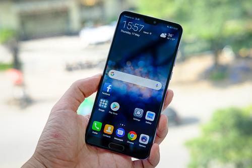 Huawei P20 Pro là một trong bốn smartphone Huawei bị phát hiện gian lận điểm hiệu năng.