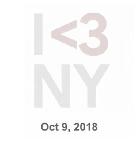 Thư mời sự kiện của Google ngày 9/10 tới.