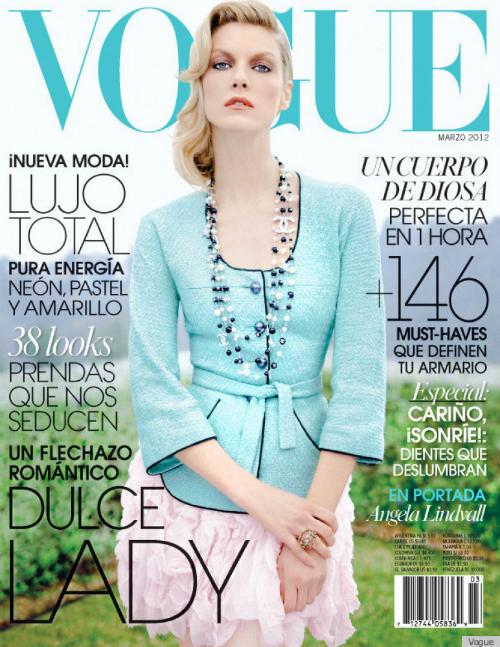 Angela Linvdall xuất hiện trên ảnh bìa của Vogue Mexico. Nhưng có gì đó không bình thường trong bức ảnh này. Xem đáp án.