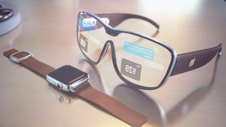 Mẫu concept về Apple Glasses của iDropNews.