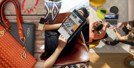 Học tập, giải trí mọi lúc mọi nơi với laptop mới của Lenovo.