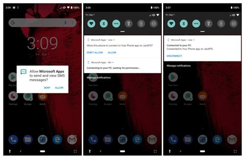 Tính năng mới đòi hỏi cài thêm ứng dụng trên điện thoại Android.