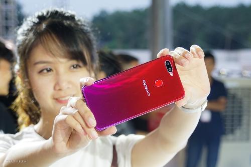 Oppo F9 sở hữu chipset P60 có beauty AI 2.1 nâng tầm selfie