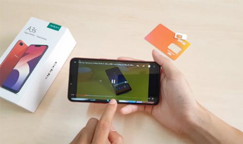 Tốc độ 4G cho phép người dùng thoải mái lướt web, xem video trực tuyến mà không lắc khựng.
