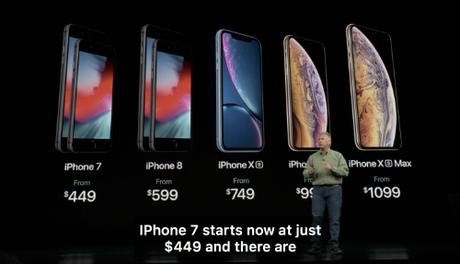 iPhone 7 giảm giá, iPhone 6s bị Apple khai tử