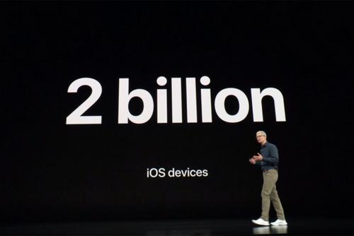 Đã có hai tỷ thiết bị chạy iOS bán ra trên toàn cầu