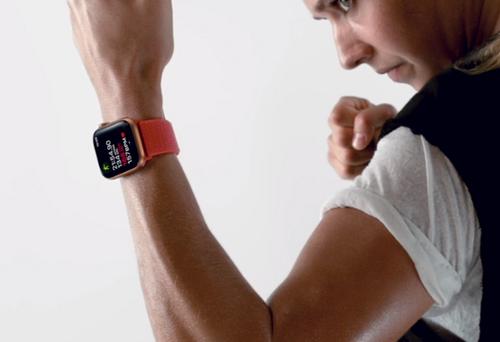 Apple Watch Series 4 có nhiều tính năng theo dõi sức khỏe.