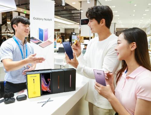 Chủ sở hữu Galaxy Note9 có thể sử dụng Samsung Pay cho nhiều nhu cầu khác nhau.