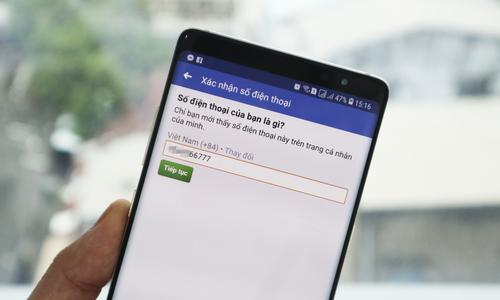 Đổi nhanh số điện thoại từ 11 về 10 số trên Facebook, Gmail