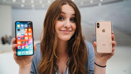iPhone Xs và Xs Max thuộc dòng s nhưng không có công nghệ đặc biệt. Ảnh: Sara Dietschy