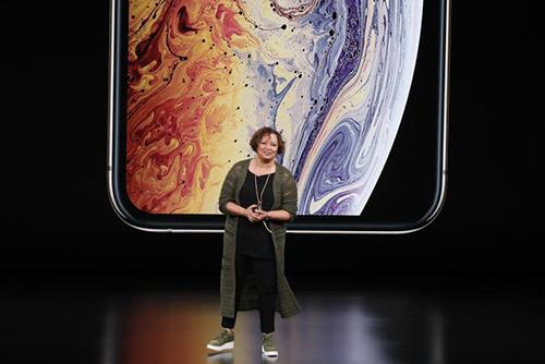 Lisa Jackson, phó chủ tịch Apple phụ trách các sáng kiến về môi trường. Ảnh: Cnet.
