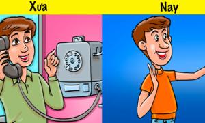 Cuộc sống thay đổi ra sao khi công nghệ phát triển