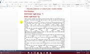 Lỗi giãn chữ trong đánh văn bản
