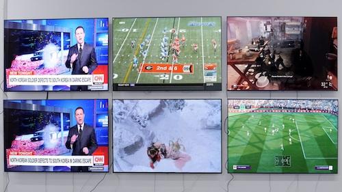 6 chiếc TV OLED được Rtings thử nghiệm từ đầu 2018.