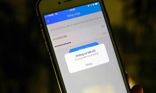 Dịch vụ nhắn tin, gọi điện Zalo không truy cập được trong 12 tiếng.