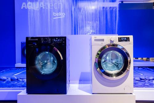 Máy giặt ứng dụng công nghệ AquaTechTM của Beko.