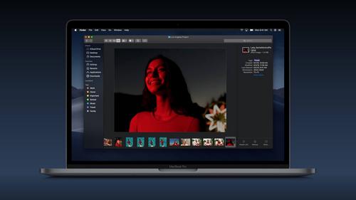 macOS Mojave được bổ sung giao diện màu tối.