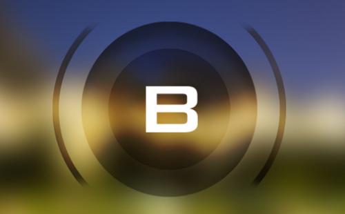 Thư mời lễ công bố Bphone 3 với hình ảnh mô tả ống kính.