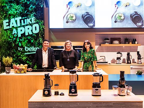 Gian hàng của Beko - thương hiệu gia dụng từ châu Âu tại triển lãm IFA 2018.